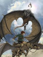 Dragon attack by clefchan