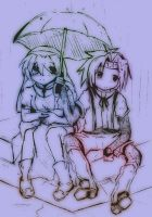 Under The Rain with you by lepler