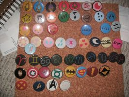 FOR SALE Buttons by DarkZephyrMoon