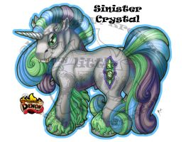 Sinister Crystal by ShamanSoulStudios