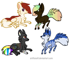 Dog Adopts by kitkatkttyAdopts5000
