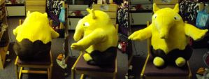 Drowzee Plush by ThisUsernameFails