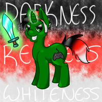 INTRO OF DARKNESS THEN REDNESS THEN PONYNESS by x-Fox-Feathers-x