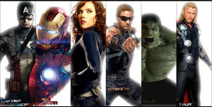 The Avengers by Cryzes