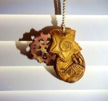 Clay necklace by CooLArtPersoN