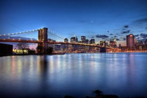 Brooklyn Bridge HDR APR 26th by sp1te