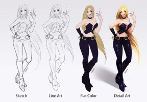 Trish: Step by Step by Opaphir