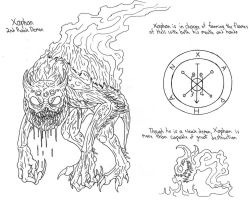 Infernal Lords - Xaphan by demongirl99