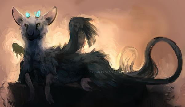 Trico Doodle by Ink-Leviathan