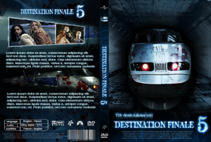 final destination 5 dvd covers by LiuWelli