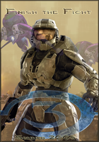 Halo Fake Movie Poster by gamingaddictmike125