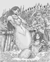 The Mermaid and the Orc by Shabazik