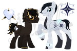 MLP Onyx and Spencer by Cj-The-Creator