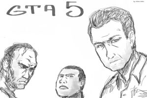 Gta5 Sketch by molcray