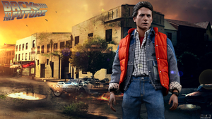 Back To The Future - HotToys by D-CDesigns