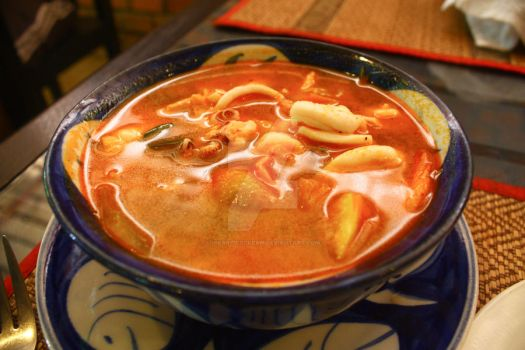 Tom Yum Soup by ihearticecream