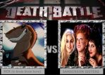 DEATH BATTLE: Rex vs The Sanderson Sisters by HunterxColleen