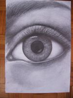 """eye again"" finished by aqata16"