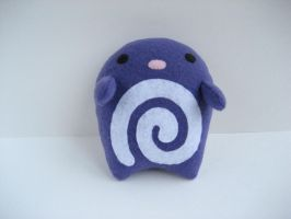 Purple swirl Plush by Neoitvaluocsol