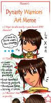 Dynasty Warriors Art Meme by Soul-of-the-Sword