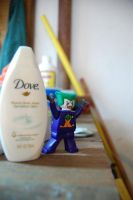the Joker likes Dove by allie041290