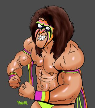 Ultimate warrior by Makinita