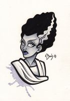 Bride Of Frankenstein by BlueUndine