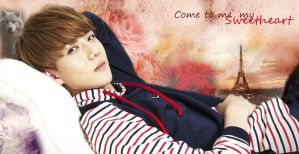 SeHun(EXo)-wallpaper by CatJessica