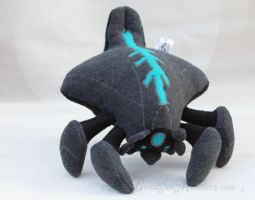 Chibi Mass Effect Reaper Plush Toy by MyBeautifulMonsters