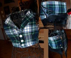 Plaid tester clothes by mariedark