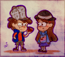 elementary, my dear Mabel. by CherryVioletS