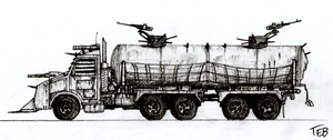 Post-Apocalyptic Vehicle 10 by Stingray-24