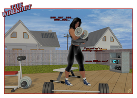 Alie Working Out by Aliessa