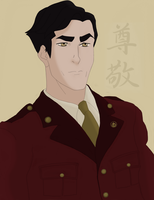 LOK: General Iroh II- Honor by ButterflyMelodyFox