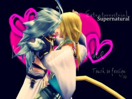So foreign - Kuja x Zidane by dumbapplesisakyll