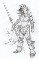 DnD_Ranger-Fighter_BurlyChassi by Leord-Redhammer