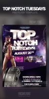 Top Notch Tuesdays PSD Flyer Template by ImperialFlyers