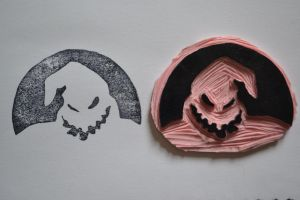 Nightmare Before Christmas Stamp by Littel-Gerll