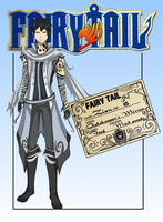Fairy Tail OC: Zian Nightlash (NEW UPDATES) by Kalina1176