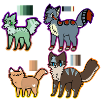 Dog AND Cat Adoptable batch! - ONE LEFT - by Pet-WorId