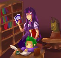 Twilight Library by vosemsest