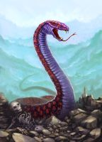 Giant Snake by ScottPurdy