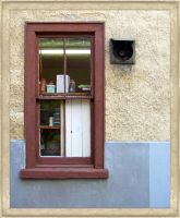 Alley Window by moeuf