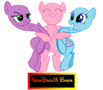 MLP Base: HUGS! by NegaDuck13