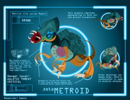 Metroid Cycle: Zeta Metroid by Samolo