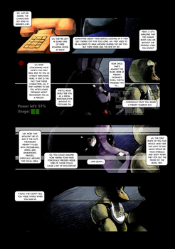 Five Nights at Freddy's : Day and Night page 9 by EyeOfSemicolon
