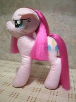 Angry Pinkamena brushable mane plushie by Zooher-Punkcloud
