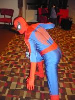 Not a convention till spider man is there by ChrisMist