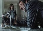 Carl takes Negan on a tour of the house. by deeds666
