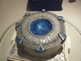 Stargate cake finished by Bairn